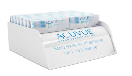 acuvue acrylic stock display