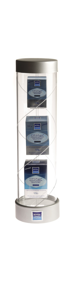 Nivea tube display